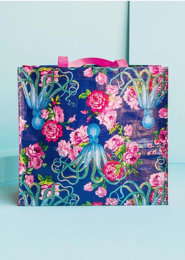 Tokyomilk Market Tote - 20,000 Flowers Under the Sea