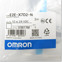 E2E-X7D2-N 2M スタンダードタイプ近接センサ 直流2線式 M18 NC ,Amplifier Built-in Proximity Sensor,OMRON