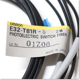 Japan (A)Unused,E32-T81R-S  ファイバユニット 透過形 耐熱200℃ 2m ,Fiber Optic Sensor Module,OMRON