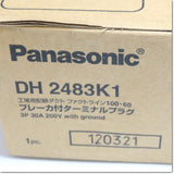 Japan (A)Unused,DH2483K1  ブレーカ付きターミナルプラグ 3P 30A ,Wiring Materials Other,Panasonic