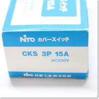 CKS 3P 15A  カバースイッチ ,Peripherals / Low Voltage Circuit Breakers And Other,NITTO