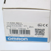 E3X-SD11 シンプルファイバセンサ 2m ,Fiber Optic Sensor Amplifier,OMRON