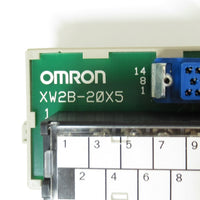 XW2B-20X5 コネクタ端子台変換ユニット ,Connector / Terminal Block Conversion Module,OMRON