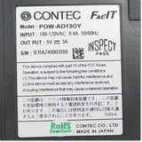 POW-AD13GY  電源ユニット ,PLC Related,CONTEC