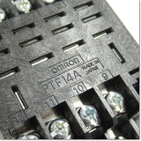 PTF14A 角形ソケット 表面接続 14ピン ,Socket Contact / Retention Bracket,OMRON