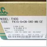 F400FK10-8*CN-5N5-NN/CE  デジタル指示調節計 96×48mm DC0-10V 熱電対入力 ,Temperature Regulator (Other Manufacturers),RKC