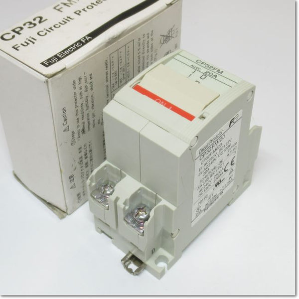 CP32FM 2P 20A   Circuit Protector