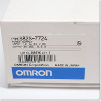S82S-7724  スイッチング・パワーサプライ IN:DC12-24V OUT:DC24V0.3A ,DC24V Output,OMRON
