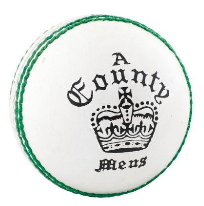 Readers County Cricket Ball WHITE