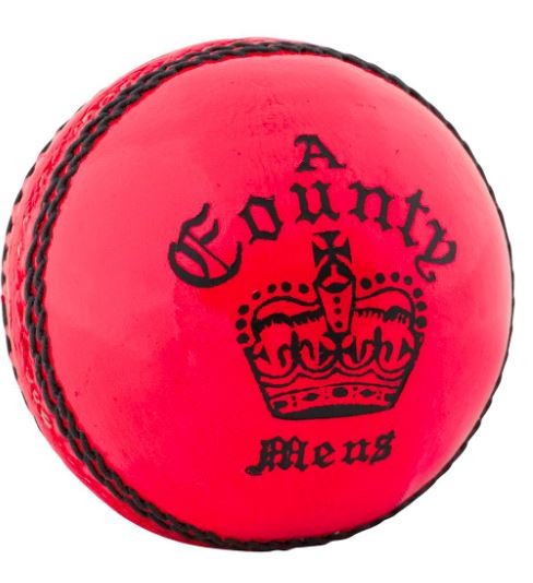Readers County Cricket Ball PINK