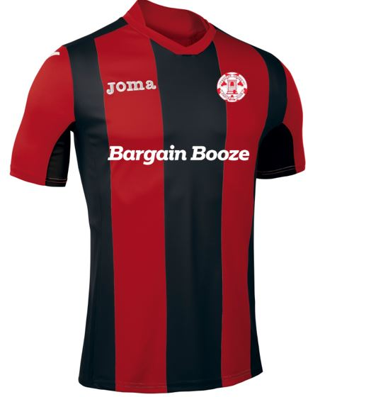 Dalton United FC Home match shirt