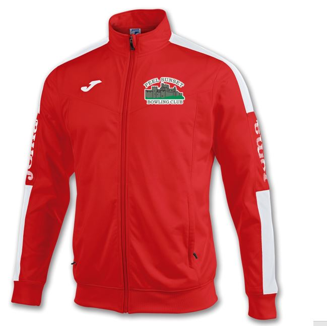 Peel Sunset Bowls Club Tracksuit Jacket