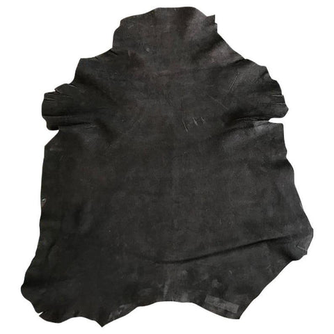 NOORA Leather Suede Cowhide upholstery Black Hide For Jewelry Making Leather Crafters, Earrings SJ162