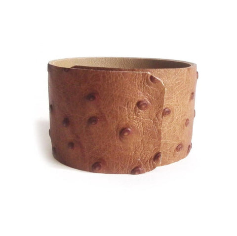 NOORA New Wrist Band or Brown Lambskin Leather Festival Wearable Band Hidden Bracelet Arm Band Hands Free Band Custom to Order #RS681#