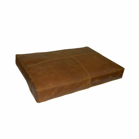NOORA Leather Customized Genuine Seat Cushion Cover, Dining Cushion Living Decor, Home Decor, Housewarming Square Cover With Zip NM001