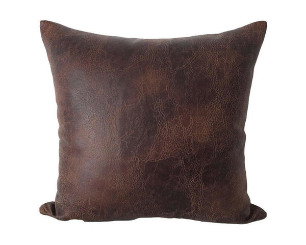 NOORA Brown pillow cover - Christmas decor - throw pillows-brown pillow covers- cushion case- coffee color pillow decor Square Case SJ398
