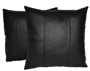 NOORA New Design Pillow Cushion Cover 100% lumbar Genuine Lambskin Leather, passover Pillow Square Cover , Vintage leather , SJ4