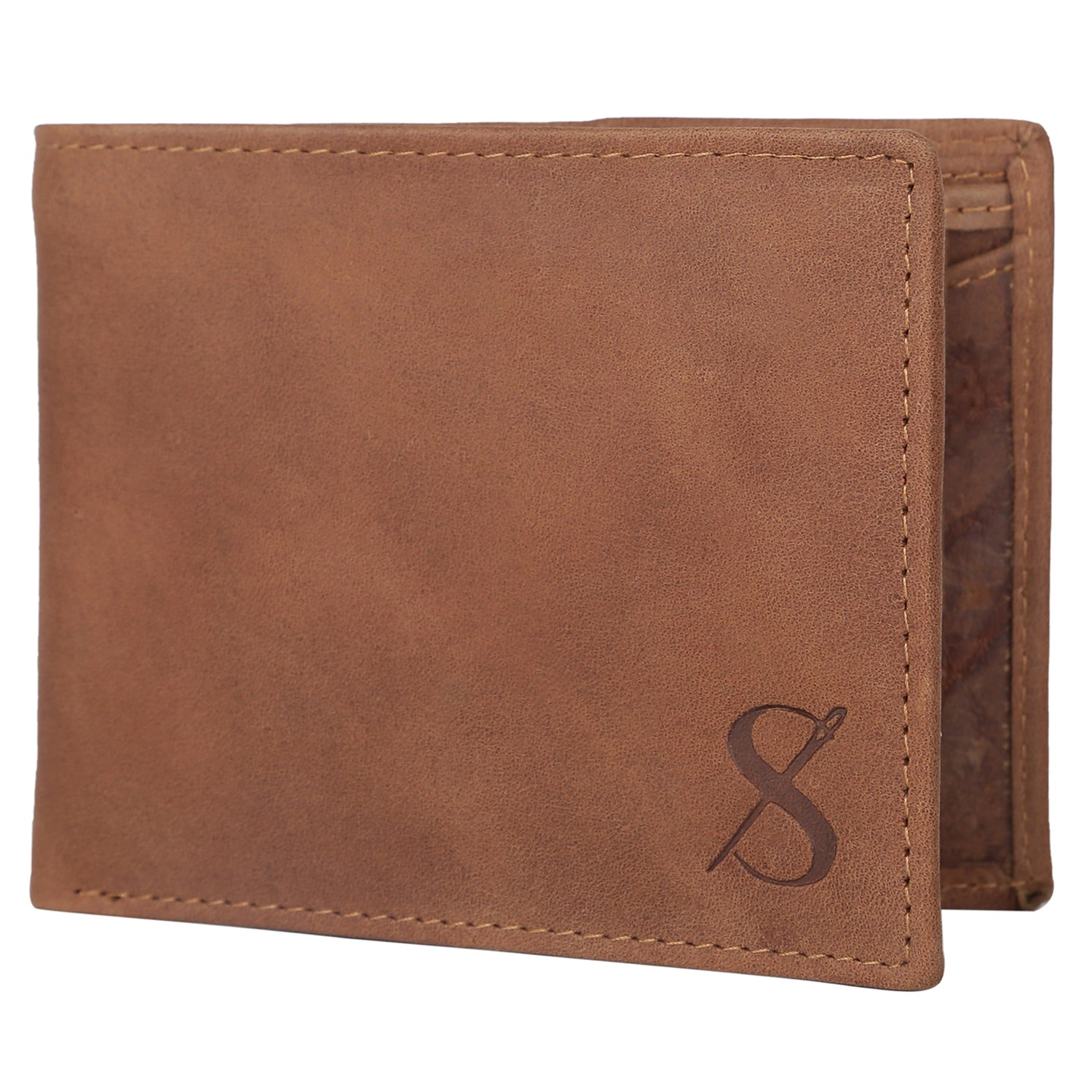 Stylish Men's Leather Tan Colour Wallet