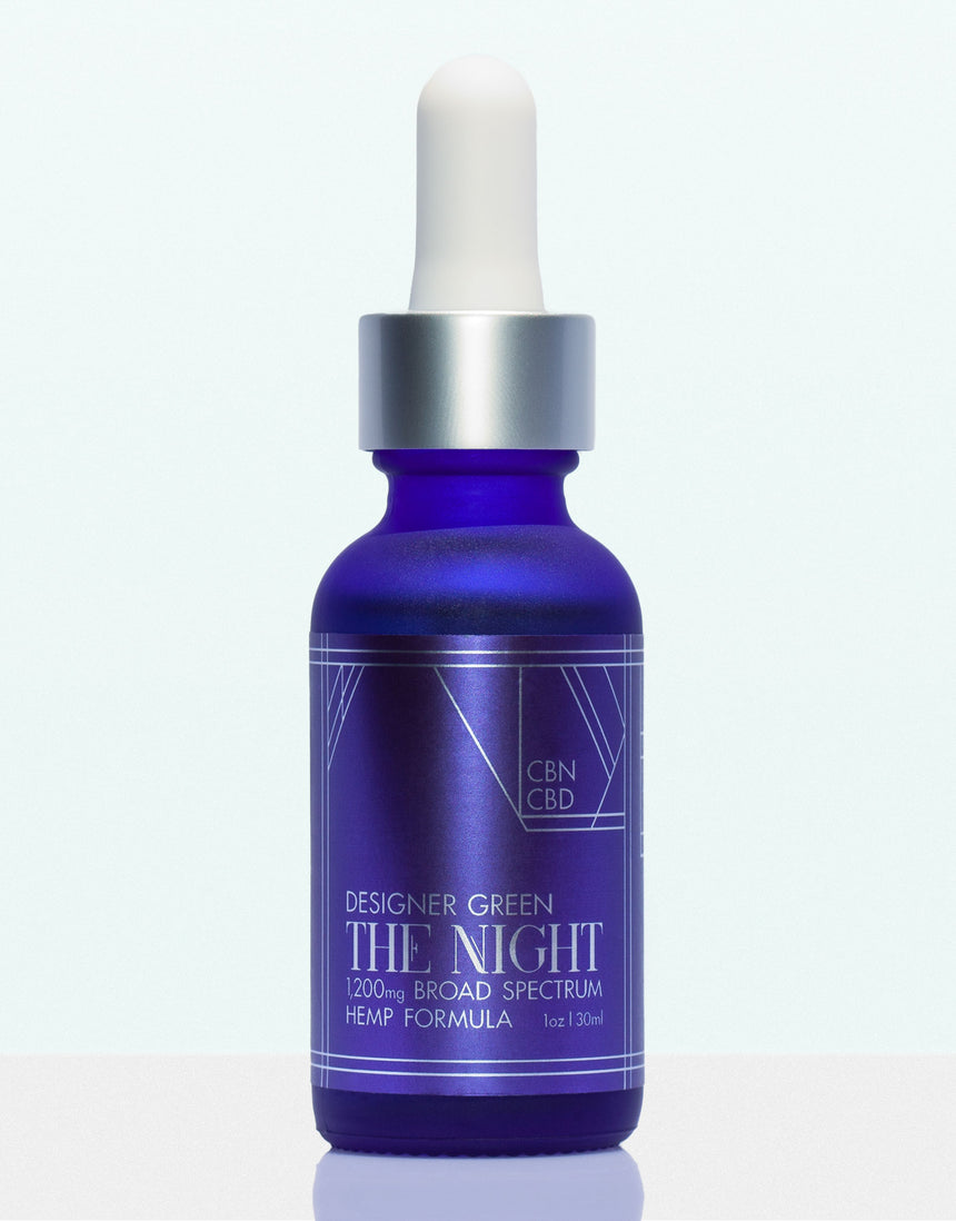 Designer Green The Night CBN + CBD Hemp Tincture Formula