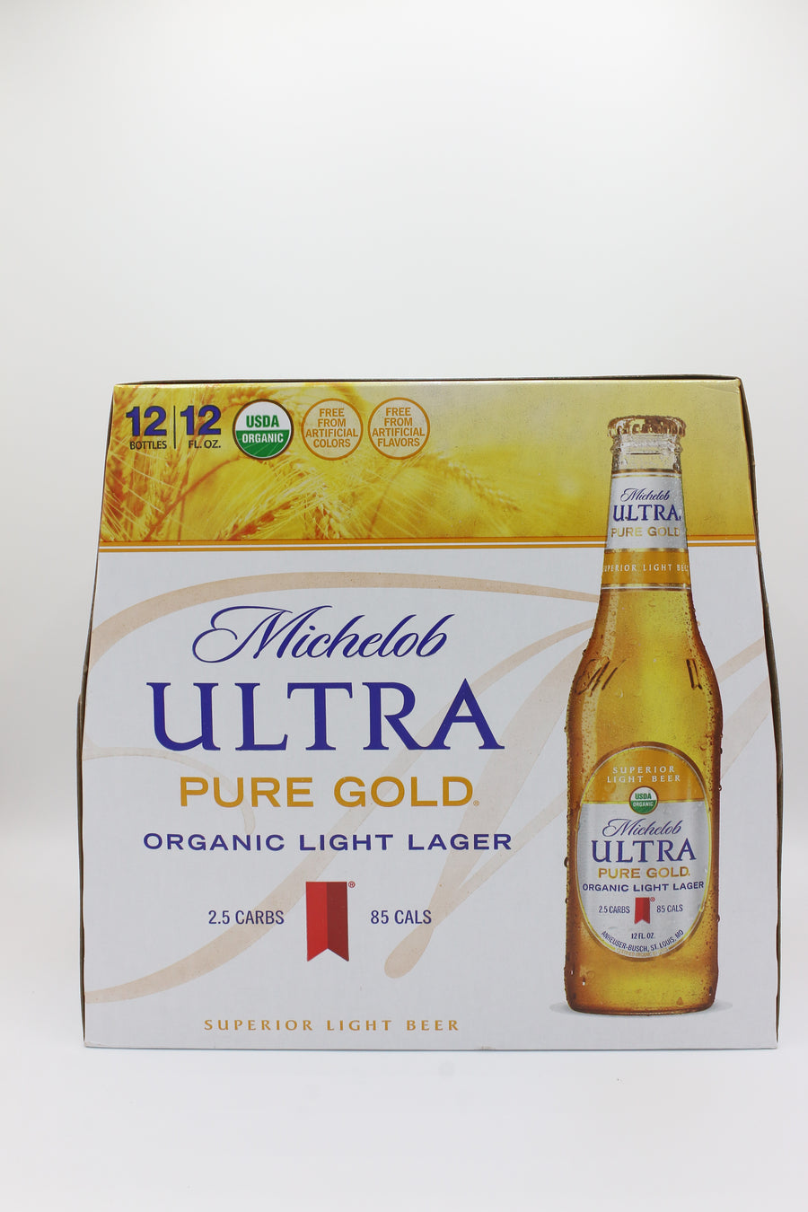 MICH ULTRA PURE GOLD 12PK BOTTLES
