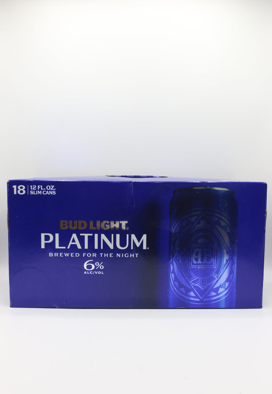 Bud Light Platinum 18pk Cans