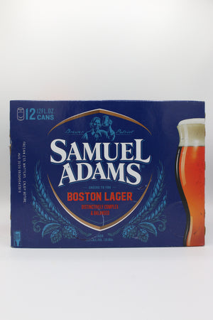 SAM ADAMS BOSTON LAGER 12PK CANS