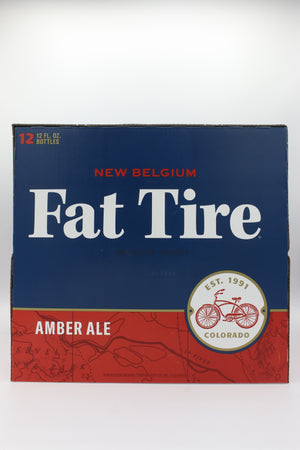 New Belgium Fat Tire 12pk Bottles