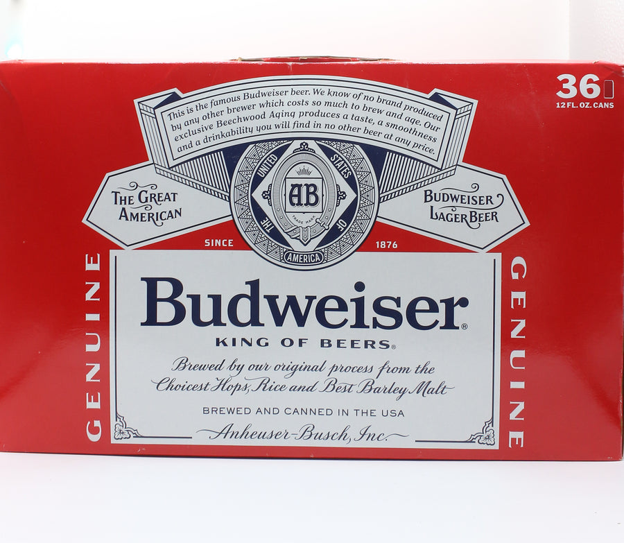BUD 36 PACK CAN