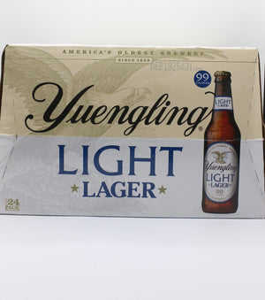YUENGLING LIGHT 24PK BOTTLES
