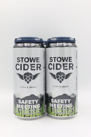 STOWE SAFETY MEETING 4PK