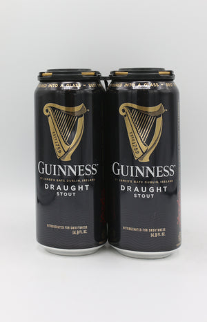 GUINNESS DRAUGHT 4PK CAN