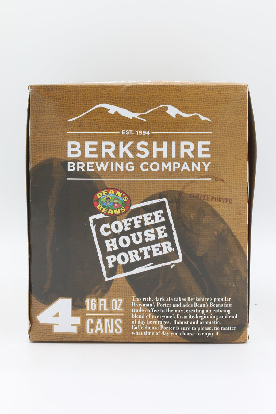 BERKSHIRE COFFEEHOUSE PORTER 4PK