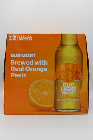 BUD LIGHT ORANGE 12PK BOTTLES