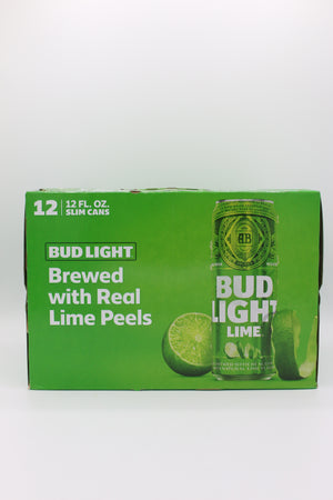 BUD LT LIME 12PK CAN