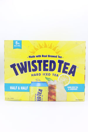 TWISTED TEA HALF & HALF 12PK CANS