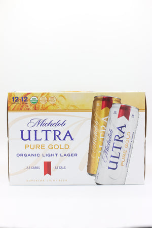 Mich Ultra Pure Gold 12pk Cans