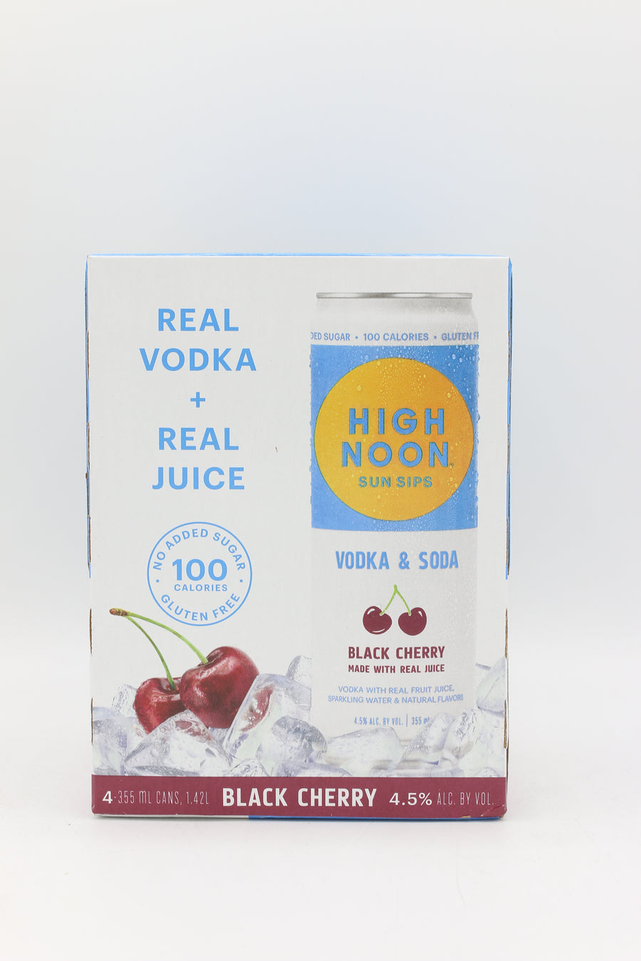 HIGH NOON BLACK CHERRY 4PK