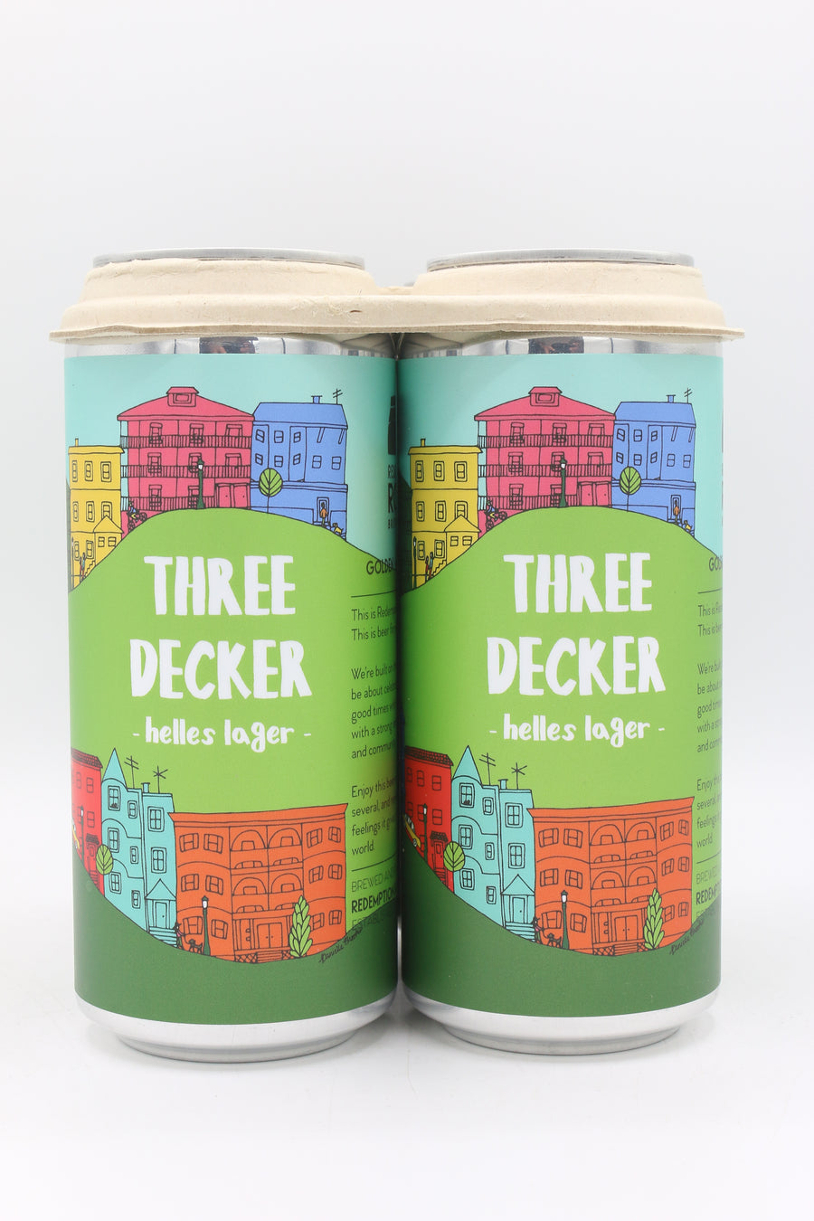 Redemption Rock Three Decker 4pk