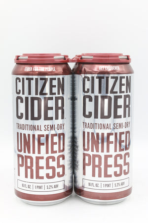 CITIZEN CIDER UNIFIED PRESS 4PK