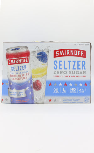 Smirnoff Spiked Red White Berry 12pk