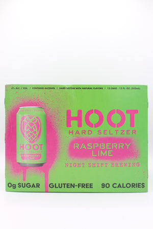 HOOT RASPBERRY LIME 12PK