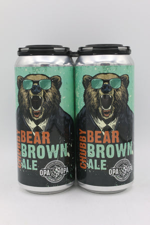 OPA OPA CHUBBY BEAR BROWN ALE 4PK