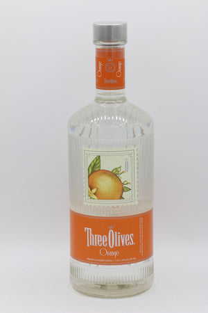 THREE OLIVES ORANGE VODKA 1.75 L