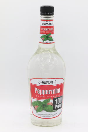 Arrow Peppermint Schnapps 100° 750mL
