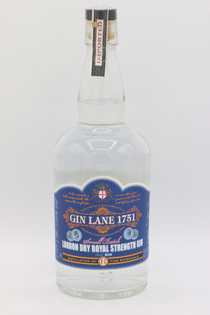 GIN LANE LONDON DRY 750ML
