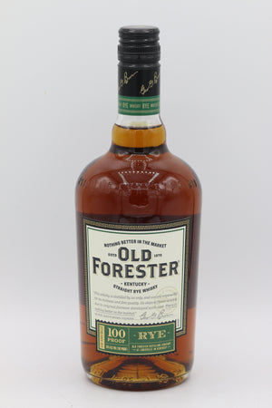OLD FORESTER RYE 750ML