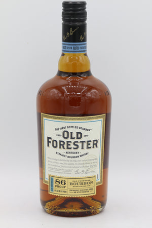 OLD FORESTER BOURBON WHISKEY 750ML
