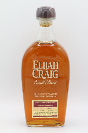 ELIJAH CRAIG BOURBON WHISKEY 750ML