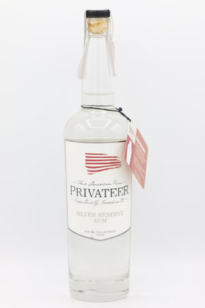 PRIVATEER SILVER RUM 750ML
