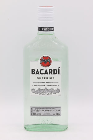 Bacardi Superior Light Rum 375 mL